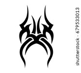 tattoo tribal vector design.... | Shutterstock .eps vector #679533013