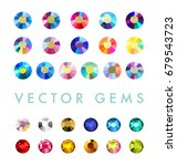 vector collection of shine... | Shutterstock .eps vector #679543723