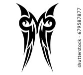 tattoo tribal vector design.... | Shutterstock .eps vector #679587877