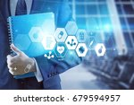 business. | Shutterstock . vector #679594957