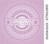 between love and hate pink... | Shutterstock .eps vector #679621843