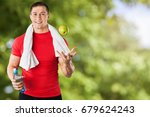 healthy lifestyle. | Shutterstock . vector #679624243