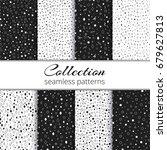 collection of elegant... | Shutterstock .eps vector #679627813