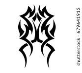 tribal tattoo art designs.... | Shutterstock .eps vector #679641913