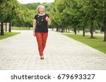 close up portrait of lovely... | Shutterstock . vector #679693327