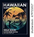 hawaii  aloha vector... | Shutterstock .eps vector #679721017