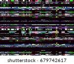 Glitch Background. Computer...