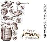 hand drawn ink sketch...   Shutterstock .eps vector #679770097