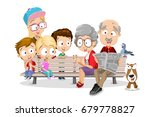 vector cartoon illustration of... | Shutterstock .eps vector #679778827