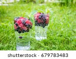 refreshing summer drink with... | Shutterstock . vector #679783483