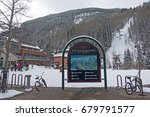 telluride  colorado usa  ... | Shutterstock . vector #679791577