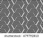 the geometric pattern with... | Shutterstock .eps vector #679792813