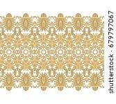 seamless ornamental vector... | Shutterstock .eps vector #679797067
