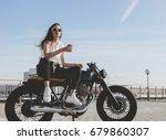 outdoor lifestyle portrait of... | Shutterstock . vector #679860307