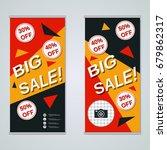 modern big sale colorful...   Shutterstock .eps vector #679862317