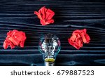 concept idea inspiration on... | Shutterstock . vector #679887523