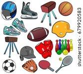 image is a cartoon vector...   Shutterstock .eps vector #679920583