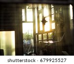 the yellow light through out... | Shutterstock . vector #679925527