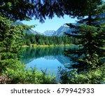 stunning mountain scenery... | Shutterstock . vector #679942933