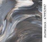 abstract acrylic paint texture... | Shutterstock . vector #679952947