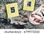 crime scene investigation ... | Shutterstock . vector #679972033