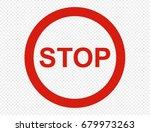 stop | Shutterstock .eps vector #679973263