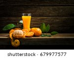 still life glass of fresh... | Shutterstock . vector #679977577