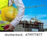 double exposure engineers... | Shutterstock . vector #679977877