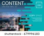 presentation layout design...   Shutterstock .eps vector #679996183