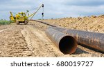 pipe layer on the repair of the ... | Shutterstock . vector #680019727