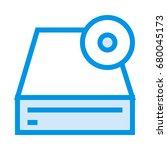 cpu icon   Shutterstock .eps vector #680045173