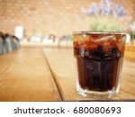 cola with ice cubes   Shutterstock . vector #680080693