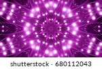 purple floodlights background | Shutterstock . vector #680112043