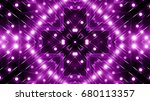 purple floodlights background | Shutterstock . vector #680113357