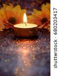 Prayer And Hope Concept. Retro...