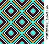 blue orange green and white... | Shutterstock .eps vector #680267137