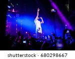 moscow   27 march 2015  concert ... | Shutterstock . vector #680298667