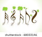 Abstract Eco Musical Words...