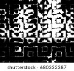 grunge background of black and... | Shutterstock . vector #680332387