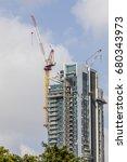 multistory residential building ... | Shutterstock . vector #680343973