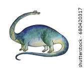 Prehistoric Dinosaur Diplodocu...