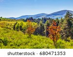 slopes  hills and mountains... | Shutterstock . vector #680471353