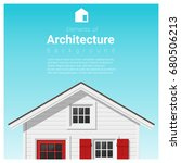 elements of architecture... | Shutterstock .eps vector #680506213