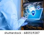 concept of management... | Shutterstock . vector #680519287