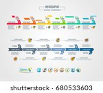 collection of vector... | Shutterstock .eps vector #680533603