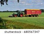 drenthe  the netherlands   july ... | Shutterstock . vector #680567347