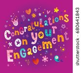 congratulations on your... | Shutterstock .eps vector #680641843