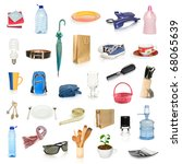 objects collection isolated on... | Shutterstock . vector #68065639