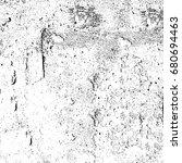 grunge black white. abstract... | Shutterstock . vector #680694463