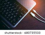 laptop computer notebook for... | Shutterstock . vector #680735533